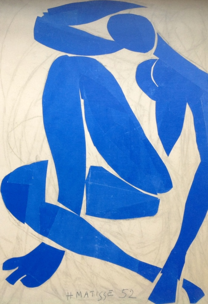 Nu Bleu 1952 Henry Matisse
