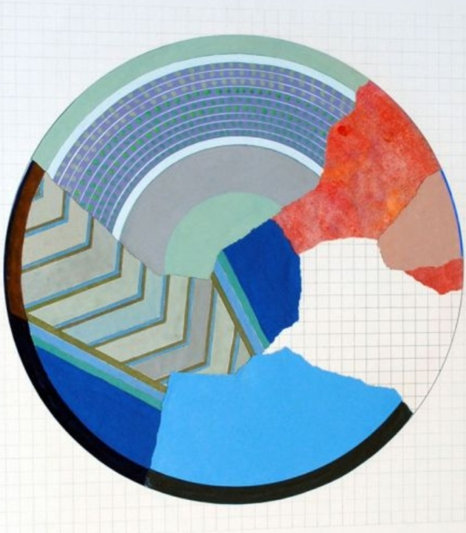 Geta Bratescu The  rule of the circle 1985