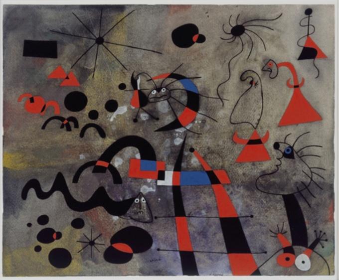 Joan Miró The escape ladder 1940