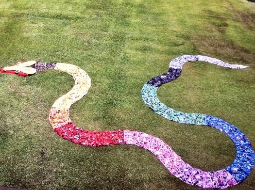 Donatella Ceria Installazione Sa colora 2009