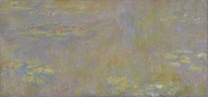 Claude Monet Water-Lilies after 1916