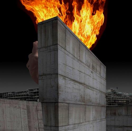 Franco Donaggio Il Muro del desiderio 2013