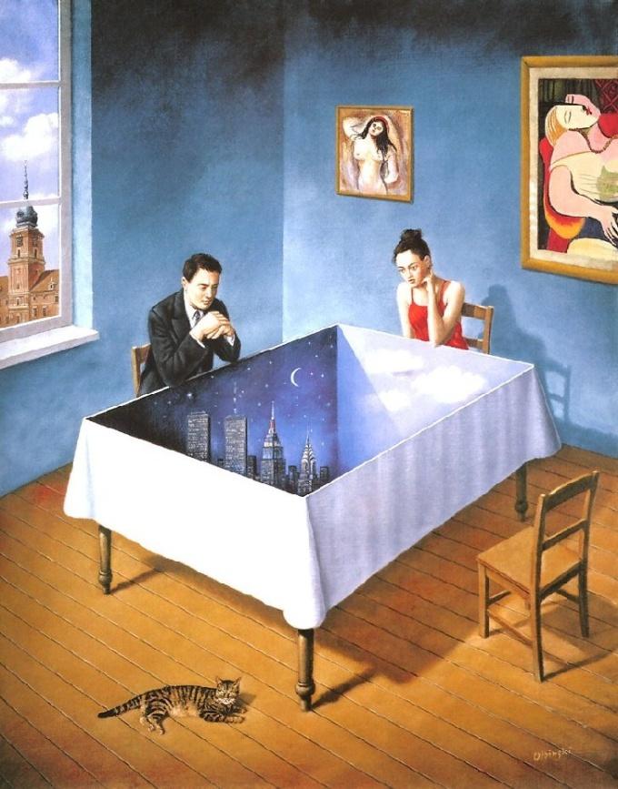 Rafal Olbinski Visioni Silenti