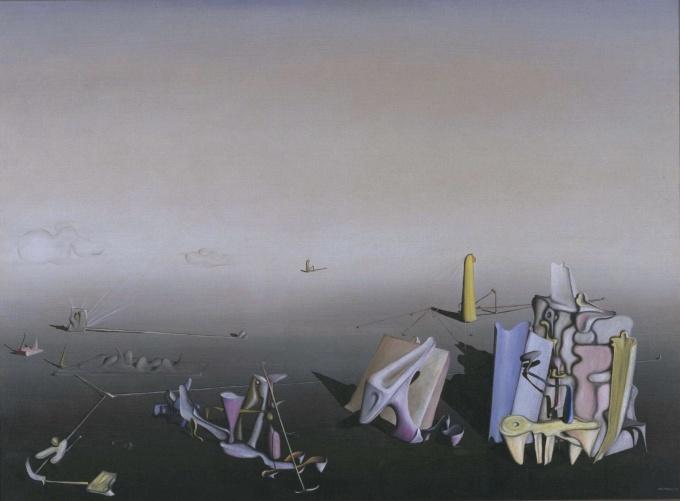 Yves Tanguy Azure Day 1937