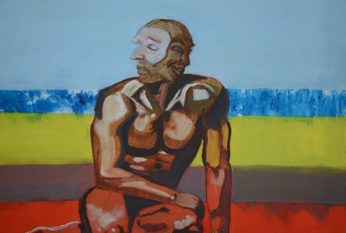 Vittorio Boi Il trasformista,2011 Olio su tela